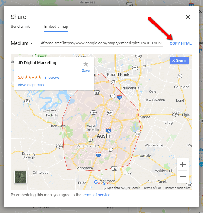 How to Embed Your Google My Business Listing [JD Digital]
